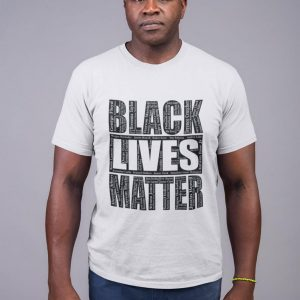 Black Lives Matter With Names T-Shirt, BLM Shirt Say Their Names, Unisex, Cotton - Woastuff