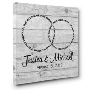 To Have and to Hold From This Day Forward, Custom Wedding Gifts, Anniversaries Poster, Wall Decor, Poster, Canvas, Metal Sign - Woastuff
