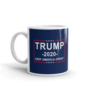 Trump 2020 Mug, Republican Vote, Make America Great Coffee Cup, Ceramic High Quality - Woastuff