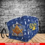 Freemasonry FM11-2.5PM-3DFM-Personalized Your Lodge Name